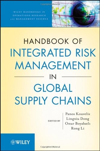 [PDF] Handbook of Integrated Risk Management in Global Supply Chains Free Download