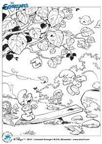 Coloriages Les Schtroumpfs à Imprimer Coloriages Dessins Animes