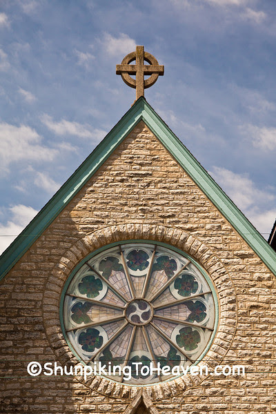 St. Mark's Evangelical Lutheran Church, (Rebuilt 1928), Polo, Illinois