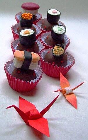 Chocolate truffles - comida japonesa. Japanese...