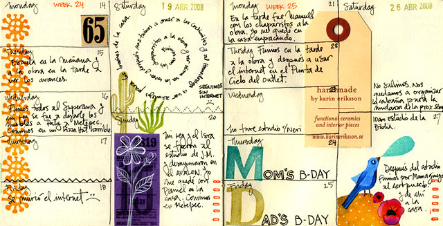 Journal Pages April 2008