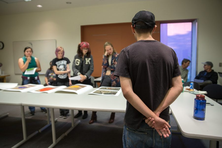Sfuad Photo Department Hosts Salon For Review And Critique The