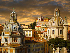 Rome and his churches