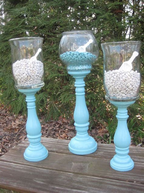 Tiffany Blue Apothecary Jars Wedding Decor Candy Buffet XX