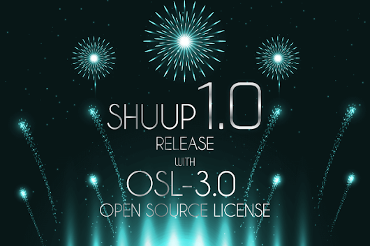 Shuup 1.0 is here with a new open source license OSL-3.0!