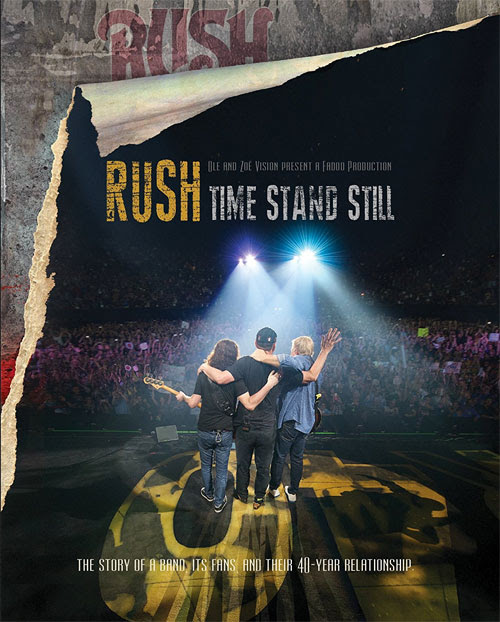 'Rush Time Stand Still' doc announced for Blu-ray, DVD | The Music Universe
