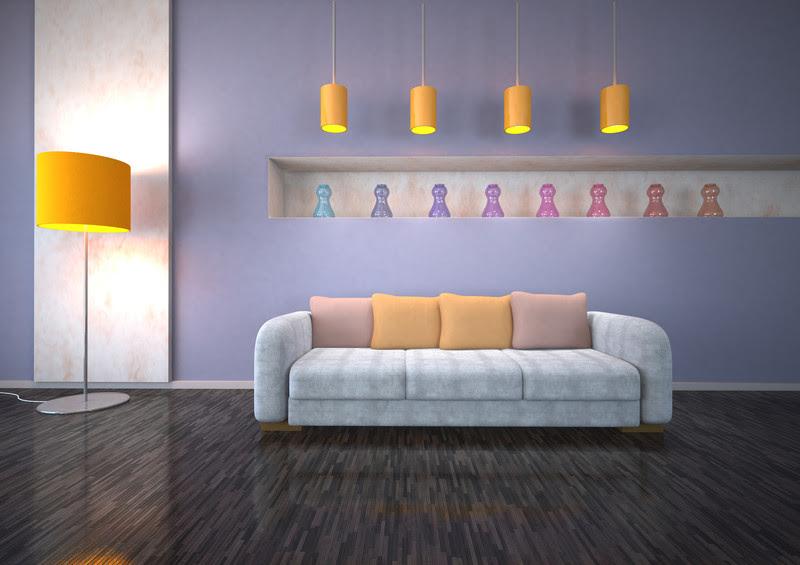 Ideen zum Wohnzimmer streichen » 5 kreative Beispiele