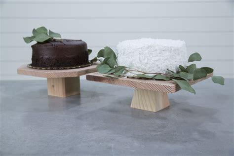 How to Build a Cake Stand