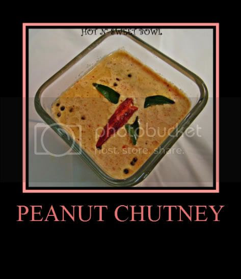Ground nut Chutney