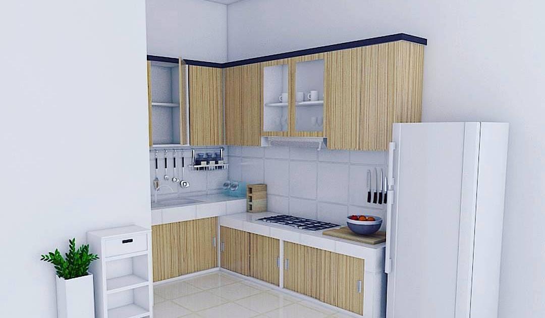 44 Contoh Gambar Kitchen Set Minimalis Modern Ide Terkini