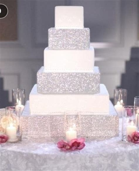 Let us see your blinged out wedding cake!