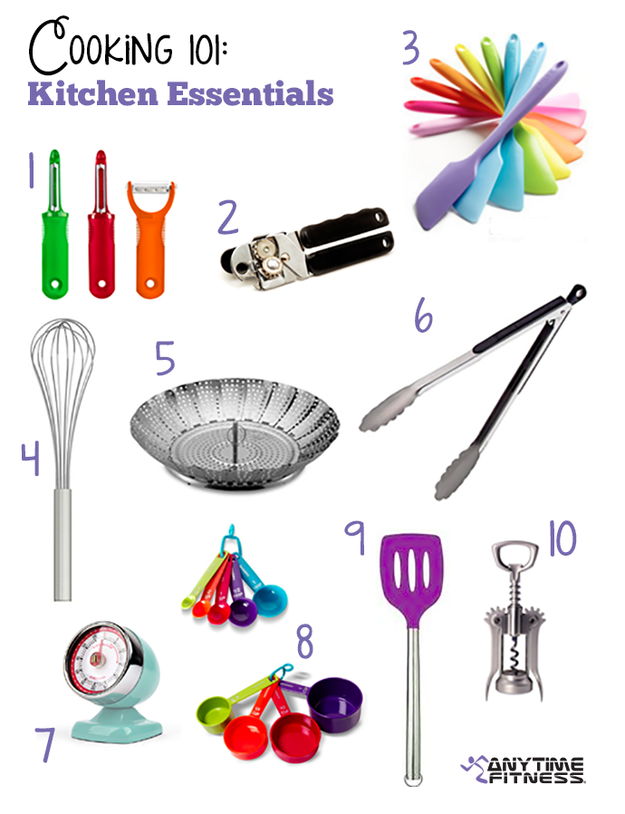 Beginner Cooking 10 Kitchen Essentials Needed To Get The