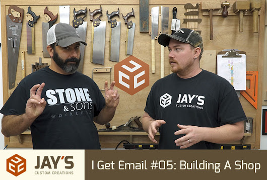 I Get Email #05: Building A Shop