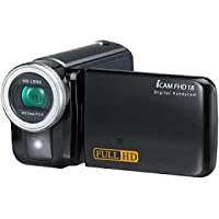 TVC ICAM 18 18MP Camcorder with 8x Optical Zoom (Black)