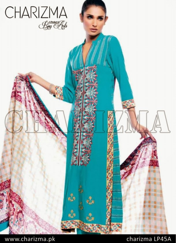 Beautiful-Girls-Wear-Stich-Embroidered-Clothes-New-Fashion-by-Charizma-Winter-Dress-2013-14-11