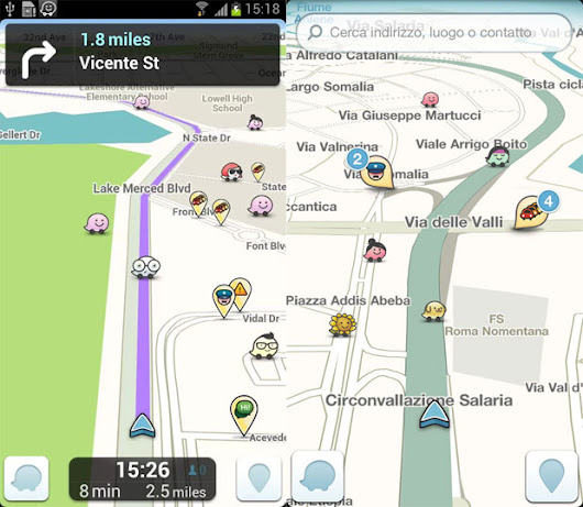 Waze update taps Google as default search provider, tips hat to new owners