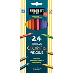 SARGENT ART 24 COLOR PENCL 7IN
