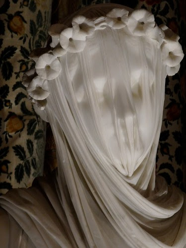 The Bride statue at Chatsworth