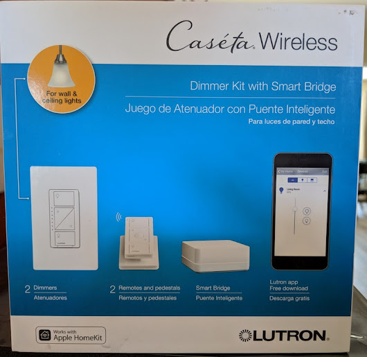 Dave's DIY Home Projects: Lutron Caseta Wireless In-wall Dimmer Smart Light Switch Installation