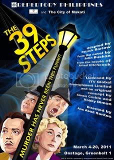The 39 Steps (Repertory Philippines)