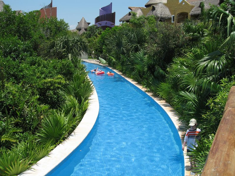 Lazy River Pool At Mexico All Inclusive  Ultimate Mexico Vacation