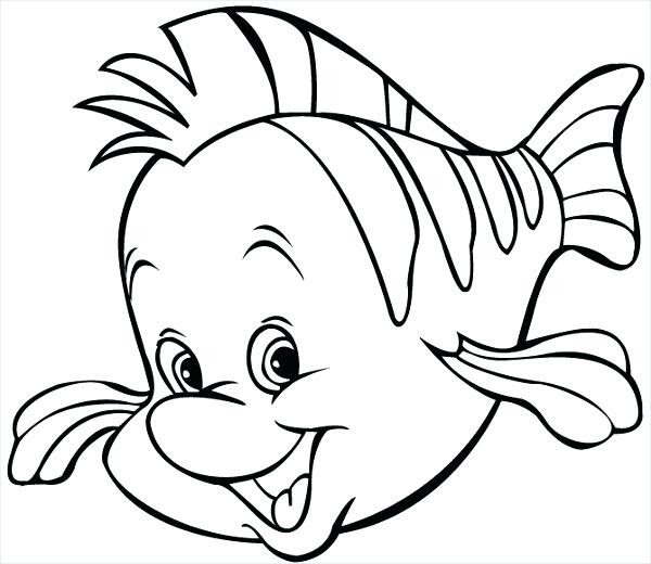 Fish Cartoon Coloring Pages at GetDrawings   Free download