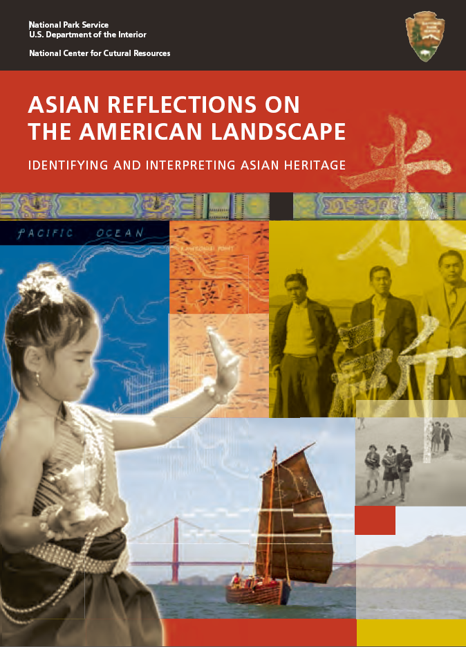 Cover of Asian Reflections on the American Landscape