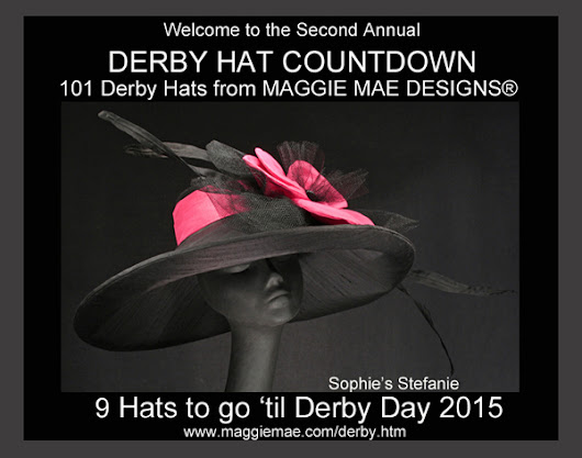 MAGGIE MAE DESIGNS® Derby Hat Countdown - 9 of 101
