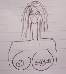 The story of my nipple piercings 6
