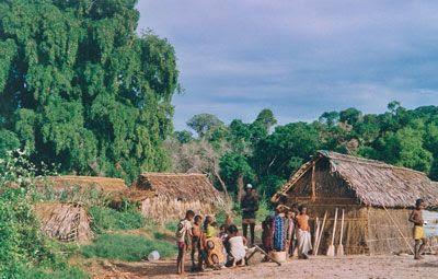 Madagascar - Il villaggio della prima notte sul fiume