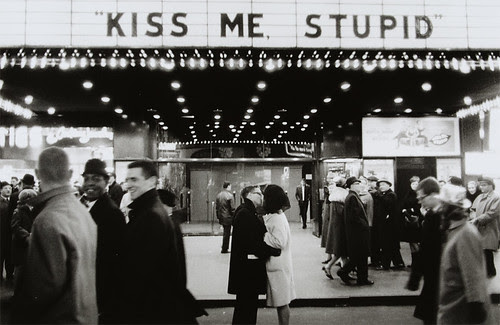New Year's Eve, NYC, 1965 (Kiss me, stupid) by CCNY Libraries.
