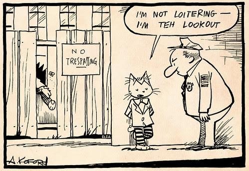 Laugh-Out-Loud Cats #2265 by Ape Lad