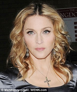 Blonde transition: Madonna, aged 32 in 1990 and 52 now