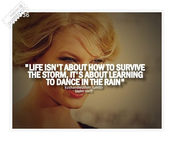 Learning To Dance In The Rain Famous Quote Quotezco