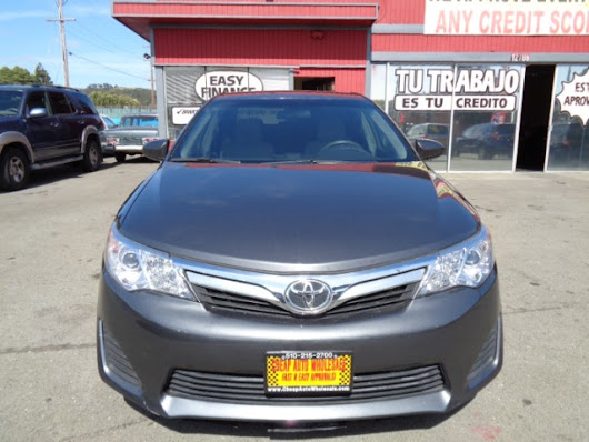 Used 2014 Toyota Camry SE Sport for Sale in Richmond CA 94805 Cheap Auto Wholesale
