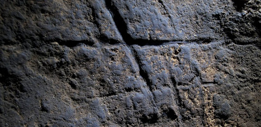 Is that rock hashtag really the first evidence of Neanderthal art?