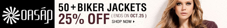 25% off 50+ Biker Jackets, Ends Oct. 25th, 2012