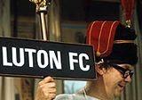 Luton supporter: Artist\'s impression