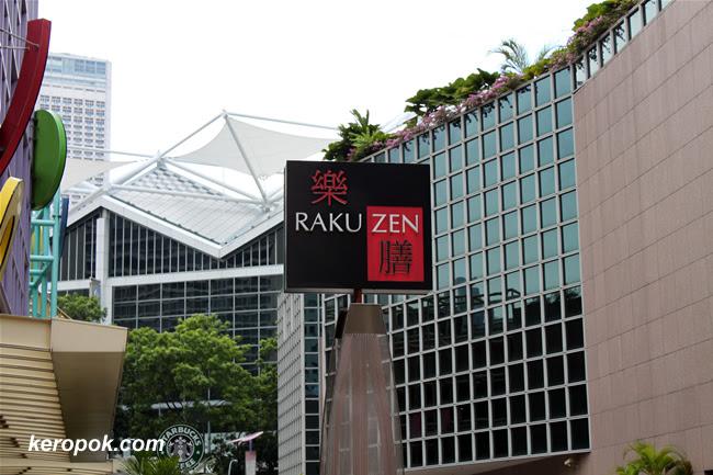 Raku Zen @ Millenia Walk
