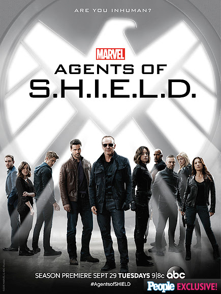 Chloe Bennet and Clark Gregg Show Off Edgy New Looks in Agents of S.H.I.E.L.D. Poster