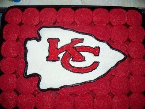 Kansas City Chiefs Cake Cupcakes Made With The Customary