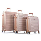 Heys Edge 3PC Luggage Set Rose Gold