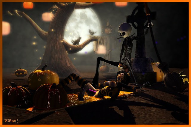 Jack Skellington's pumpkin soup !