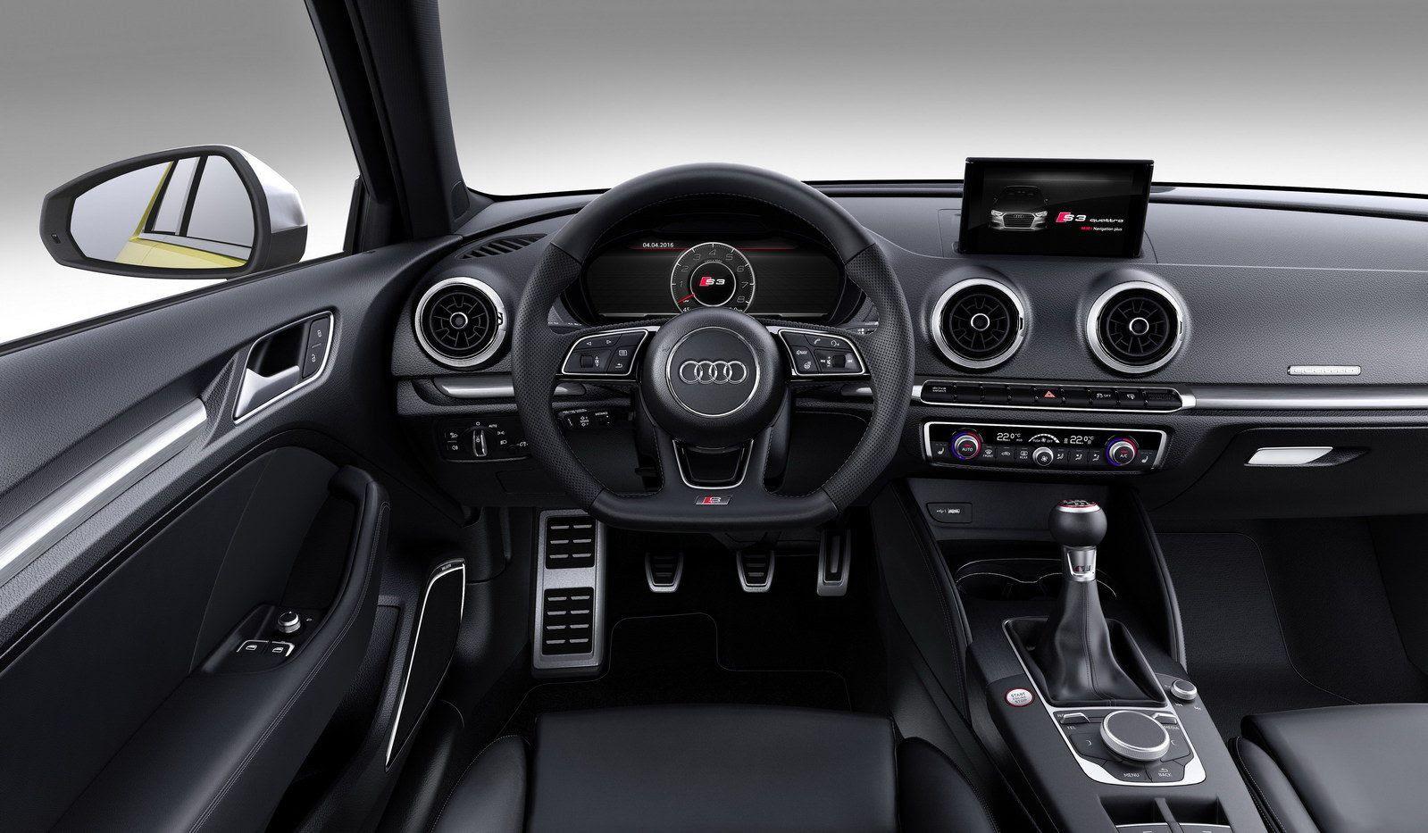 Hasil gambar untuk Audi S3/RS3 2017 interior