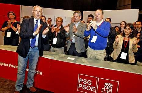 El PSOE provincial de Pontevedra exige a Pachi Vázquez que dimita