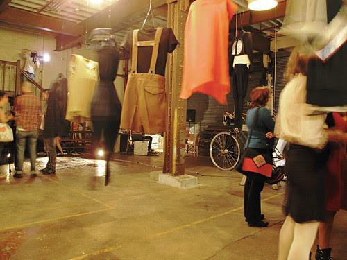 Room & Clothes @ Spoke + Spool Launch