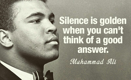 Quote of Mohammed Ali