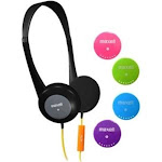 Maxell Action Kids On-Ear Headphones with Mic
