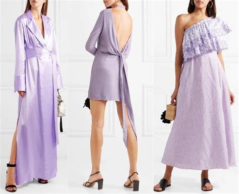 What Color Shoes to Wear with Purple Dress Outfit