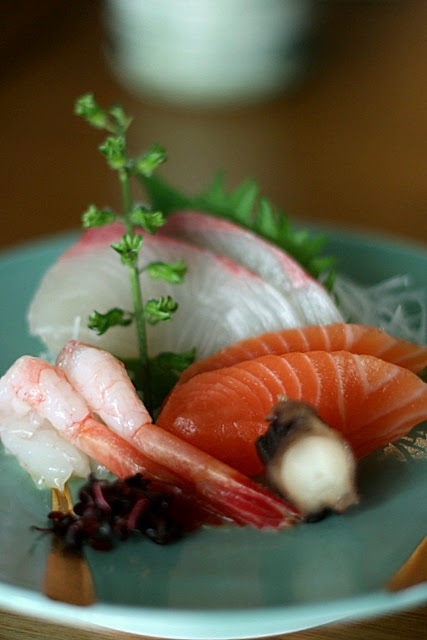Sashimi of the Day - sweet and fresh!
